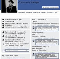 Faceculum Vitae . Un proyecto de Marketing de Manuel Sánchez Menéndez         - 17.11.2014