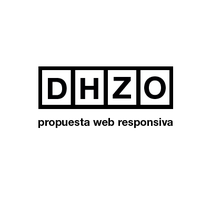 dhzo web responsiva. A Web Design project by Diego         - 16.11.2014