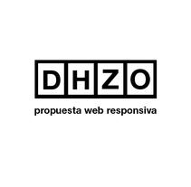 dhzo web responsiva. Um projeto de Web design de Diego         - 16.11.2014