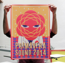 Primavera Sound 2014. A Illustration, and Screen-printing project by barbasilkscreenatelier - 05.22.2014