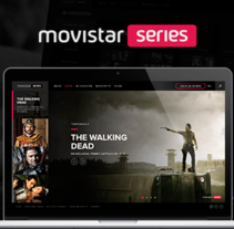 Movistar Series . A UI / UX, Art Direction, and Web Design project by Owi Sixseven  - 02-12-2014