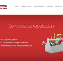 House & Building Soluciones. A Graphic Design, and Web Development project by Javier Moreno Santa Engracia         - 15.05.2014