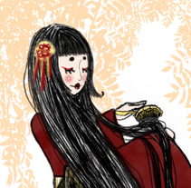 Ilustración ( Fuiu & Natsu). A Illustration, and Character Design project by Natalia Barbosa          - 13.02.2013