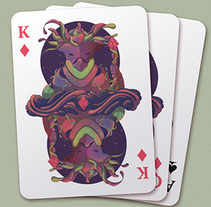 Elite Playing Cards. Um projeto de Ilustração, Design de personagens e Design gráfico de Cristian Eres         - 07.12.2014