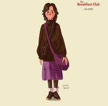 El club de los cinco. A Design, Character Design&Illustration project by David Pavón Benítez - 12.08.2014