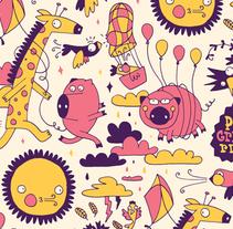 Patterns. Un proyecto de Ilustración, Cop y writing de duaaa - 09-12-2014
