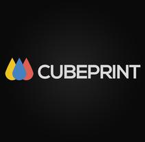 Cubeprint. Un proyecto de Diseño gráfico de Alessio Pellegrini         - 04.06.2014