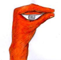Ojo con la mano. Un proyecto de Animación de nicolas massone         - 13.12.2014