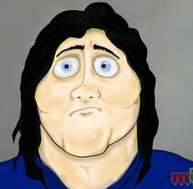 ilustración personaje pixar. Um projeto de Ilustração de Mariano Isidro         - 15.12.2014