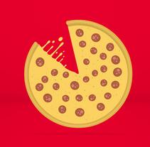 Telepizza // Click&Pizza. Un proyecto de Ilustración, Motion Graphics, Animación y Dirección de arte de Antonia y Pepa  - Miércoles, 17 de diciembre de 2014 00:00:00 +0100