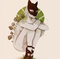 hongo. Um projeto de Ilustração de Saskia Diaz Castiblanco         - 09.07.2014