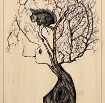Ink drawing. Um projeto de Ilustração de Sandra Allen         - 22.12.2014