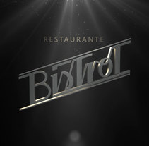 Bistrot. A Br, ing, Identit&Interior Design project by Daniel  - 16-09-2013
