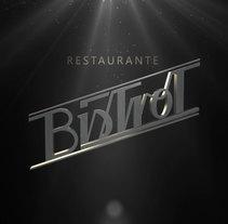 Bistrot. Un proyecto de Br, ing e Identidad y Diseño de interiores de Daniel  - 16-09-2013
