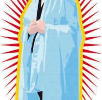 Virgen vectorial. Un proyecto de Ilustración de Aitor Lubián Sánchez - Viernes, 02 de enero de 2015 00:00:00 +0100