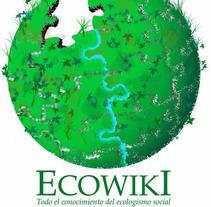 Logotipo Eco Wiki . Un proyecto de Ilustración de Luciana Garcilazo - 10-04-2014