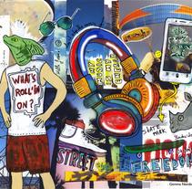 Ilustraciones Boc'n Roll para MarcaDiferencia. A Illustration project by Gemma Navidad         - 02.01.2015
