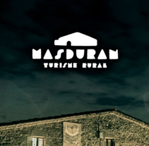 Mas Duran, Turismo Rural. A Br, ing, Identit, Web Design&Illustration project by Javi García - Apr 04 2014 12:00 AM