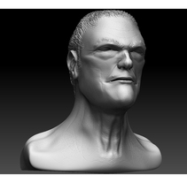 Busto Zbrush. A 3D project by Andrea Abad - 09-12-2014