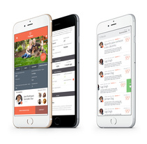 Doghero Responsive App. A UI / UX project by Derry Birkett - 01.07.2014