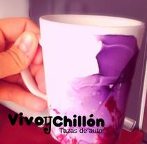 VIVO Y CHILLÓN- Tazas de autor. A Design, Crafts, Events, Fine Art, and Product Design project by crisy ulloa p. ulloa pastor         - 11.01.2015