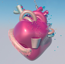 Love Machine. A Motion Graphics, 3D, and Animation project by AlMü  - 13-09-2014