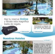 Prinsotel. Un proyecto de Diseño, Publicidad, Br, ing e Identidad, Marketing y Diseño Web de José Luis Mora         - 11.11.2010