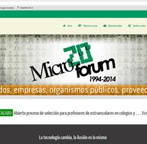 DISEÑO WEB - ASOGESTIC. A UI / UX, Graphic Design, Web Design, and Web Development project by Luis Morales Miguel         - 20.01.2015