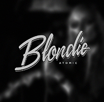 Blondie | Atomic. A Art Direction, T, pograph, and Calligraph project by Dario Trapasso         - 21.01.2015