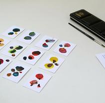 Mis tarjetas de visita. Un proyecto de Ilustración, Bellas Artes y Diseño gráfico de Julia Lillo  - 22-01-2015