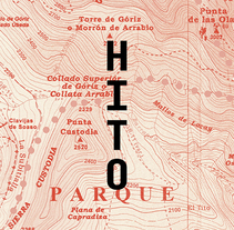 Hito, Guías de Montaña. A Br, ing, Identit, Art Direction, and Graphic Design project by Carlos arøs - Jan 25 2015 12:00 AM