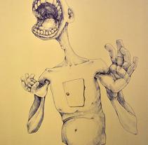 A B I G M O U T H. A Illustration project by Patricia Iglesias Carriches - Feb 02 2015 12:00 AM