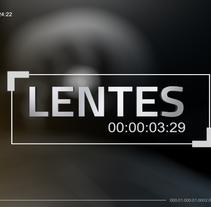 Lentes. Programa TV.. Un proyecto de 3D de Daniel  - 01-02-2015