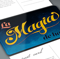La MAGIA de hacer - Los secretos dorados del lettering. Um projeto de Design, Ilustração, Br, ing e Identidade, Design gráfico, Tipografia e Caligrafia de americalira         - 10.02.2015