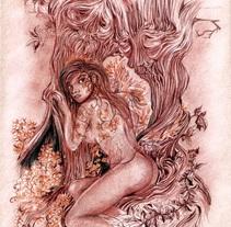 Ilustraciones aleatorias 2014. A Illustration project by Jesús Hernández - 10-02-2015