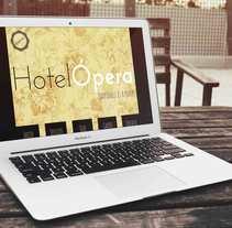 Prototipo WEB Hotel Ópera. Un proyecto de Diseño gráfico y Diseño Web de Maria Jiménez         - 12.02.2015