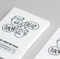 CACHO & NACHO. CREATIVE TEAM. Um projeto de Design, Ilustração, Br e ing e Identidade de Ro Ledesma         - 30.11.2014