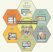 Infografía análisis de competencia online. A Web Design project by estudio         - 18.02.2015