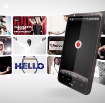 Vídeo comercial Vodafone Blanco y Negro Hits. Un proyecto de Cine, vídeo, televisión, Br e ing e Identidad de Vanesa Andrés Manzano - 19-07-2011