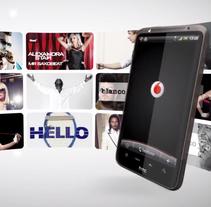 Vídeo comercial Vodafone Blanco y Negro Hits. A Film, Video, TV, Br, ing&Identit project by Vanesa Andrés Manzano - 19-07-2011