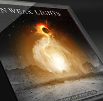 Cover standard CD - In Weak Lights. A Graphic Design project by Alonso Urbanos         - 22.02.2015