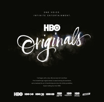 HBO Originals. A Advertising, Graphic Design, T, pograph, and Calligraph project by Oriol Miró Genovart         - 25.02.2015