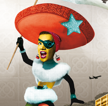 ¡Viva el Rebelesque!. A Design, Illustration, Graphic Design, and Collage project by Karine Jaume - Mar 02 2015 12:00 AM
