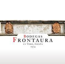 Bodegas Frontaura. Um projeto de Br e ing e Identidade de Alex G. Santana         - 01.03.2015