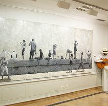 Moradores y Visitantes (vídeo arte) https://www.youtube.com/watch?v=BJDWVNS_8YQ. Um projeto de Pintura e Vídeo de René Fernández Olivera         - 01.03.2015