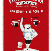 Festa da Auga. A Design, Illustration, Art Direction, and Graphic Design project by Nuria Diaz - 02-08-2012