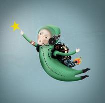 buscador de estrellas 1. A Illustration project by IlustrA         - 30.11.2014