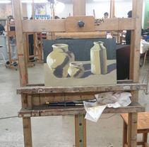 Bodegon acrilicos. Un proyecto de Pintura de Tamara Gutiérrez Torres         - 12.04.2014