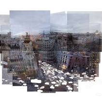 """Madrid sin ti"". A Fine Art, and Painting project by Cristina DM Marín         - 07.03.2015"