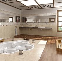 Infografia Showroom. Um projeto de 3D, Arquitetura de interiores e Design de interiores de Salvador Nicolás         - 09.03.2015